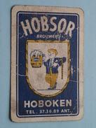 Brouwerij HOBSOR - HOBOKEN Tel 37.36.89 Ant. ( JOKER / Zie Foto´s Voor En Achter ) ! - Barajas De Naipe