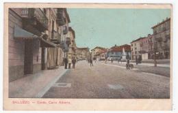 SALUZZO Corso Carlo Alberto  (carte Animée) - Non Classificati