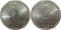 France - Ve République - 2 Francs Semeuse Nickel 1995 - TTB - Fra2386 - I. 2 Francs
