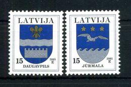 2005 LETTONIA SERIE COMPLETA MNH ** - Lettonia