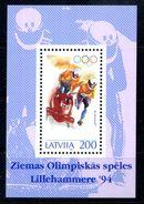 1994 LETTONIA BF4 MNH ** - Lettonia