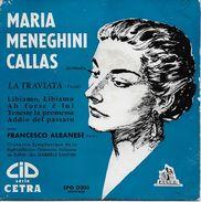 Maria Callas 45t. EP *la Traviata* - Opera