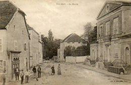 CPA - TALMAY (21) - Aspect Du Centre , Café Et Mairie , En 1903 - Francia