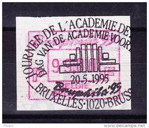 BELGIQUE COB ATM 91 BRUPHILA 1995, 99 Fr OBL  . (7A96) - Frankeervignetten