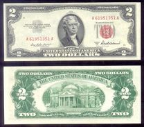United States  2$ Fr. 1510  1953-A   UNC - United States Notes (1928-1953)