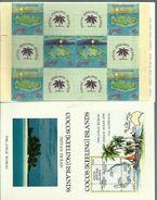 Cocos (Keeling Islands)  - 1990 Christmas Booklet (complete) MNH **   Sc 223a (4 X 40c & 2 X 70c Stamps) - Cocos (Keeling) Islands