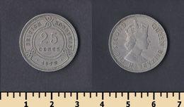 British Honduras 25 Cents 1970 - Honduras