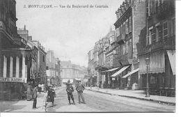 Montluçon - Vue Du Boulevard De Courtais - Montlucon