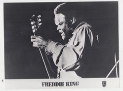 PHOTO PRESSE 18X24 / FREDDIE KING - CHANTEUR De BLUES - Personalità