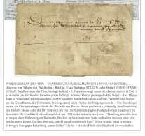 1538 - WAIDHOFEN AN DER YBBS – TANNBERG ZU AUROLZMÜNSTER UND SCHWERTBERG, Andreas Von. - Documents Historiques