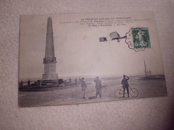 LE 1ER VOYAGE EN AEROPLANE ...F. FARMAN SE REND AU CAMP DE CHALONS A REIMS... - ....-1914: Précurseurs