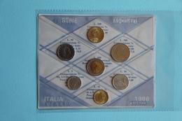 ITALY ITALIA SERIE MONETE 1986 - 1946-… : Republic