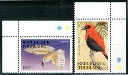 TOGO / TOGOLAISE 1995** - Uccelli / Birds - 2 Val. MNH Come Da Scansione - Uccelli