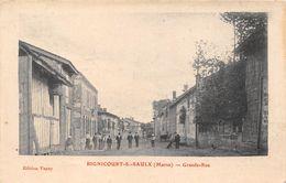 51-BIGNICOURT-SUR-SAULX- GRANDE-RUE - Autres Communes