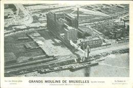 Neder - Over - Heembeek   :  Grands Moulins De Bruxelles - Monuments, édifices