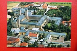 Abtei Muensterschwarzach - Luftbild - Benediktiner Schwarzach Am Main - Kirche Wallfahrt - Germania