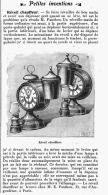 REVEIL CHAUFFEUR  De M. E. FANTHOU   1905 - Alarm Clocks