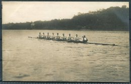 1912 Sweden Stockholm Olympics RP Official Postcard 283 Leander Rowing Club - Olympic Games