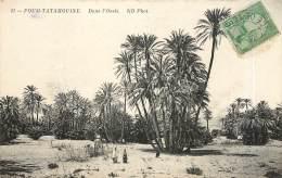 FOUM TATAHOUINE - DANS L'OASIS - Tunisie