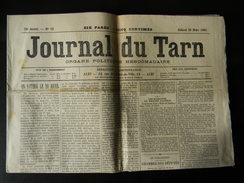 Le Journal Du Tarn Du 26 Mars 1910 N° 13 , 6 Pages - Journaux - Quotidiens