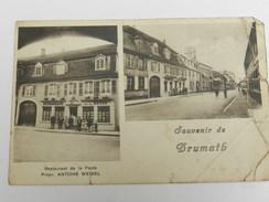 Souvenir De Brumath - Restaurant De La Poste - Propr. Antoine Weibel - Brumath