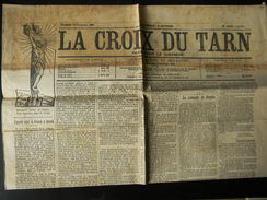 Le Journal La Croix Du Tarn Du 12 Septembre 1909 N° 922 - Journaux - Quotidiens