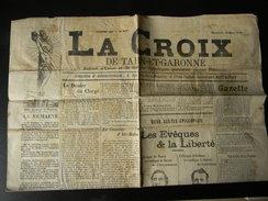 Le Journal La Croix De Tarn Et Garonne Du 13 Mars 1910 N° 917 - Journaux - Quotidiens