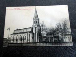 CPA - SAINT PAUL CAP DE JOUX (81) - L'église Et La Mairie - Saint Paul Cap De Joux