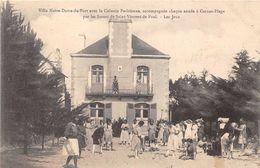 56-CARNAC- VILLA NOTRE-DAME -DU-PORT- AVEC LA COLONIE PARISIENNE ACCOMPAGNEE PAR LES SOEURS DE ST VINCENT DE PAUL - Carnac