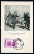 Belgique - Carte Maximum 1957 - Léopold I à La Panne - Maximum Cards