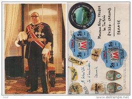 Ile TONGA - His Majesty Taufa' Hahau Tupou IV - Affraichissement Et Timbres Originaux (81748) - Postcards