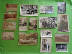 Lot De Photos -personnage Et Voiture Ancienne Pour La Plupart-voiture Enfant-delahaye-cadillac-camion-accident Etc... - Personnes Anonymes