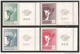 Lituania 1990 Nuovo** - Mi. 461/64 Con Appendìce - Lituania