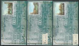 1971 SAN MARINO FDC RE.RU. CANALETTO TIMBRO ARRIVO - KS12-3 - FDC