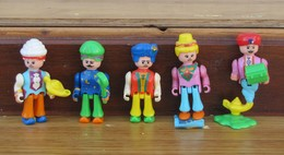 Kinder 1995 : Série La Magie Orientale Avec 1 BPZ (5 Figurines) - Kinder & Diddl