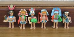 Kinder 1996 : Série Complète Les Egyptiens  Avec 1 BPZ (6 Figurines) - Kinder & Diddl