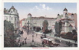 Bukarest - Calea Victoriei - Pferdetram      (A-45-120217) - Roumanie