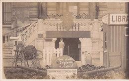 Zeebrugge - Museum - German Mine With Inscription (carte Photo) - Zeebrugge