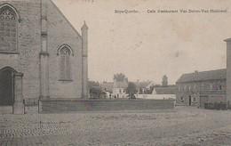 Erps-Querbs Café Restaurant Van-Doren  Van-Holsbeek Circulé En 1908 Cachet Relais - België