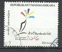 MADAGASCAR 2016 - FRANCOPHONIE SUMMIT - OBLITERE USED GESTEMPELT USADO - Madagascar (1960-...)