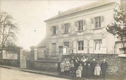 Rare Carte Postale Photo écoles De SAINT CYR En ARTHIES - France