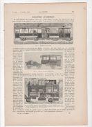 LA NATURE 16 04 1898 - ROULOTTES AUTOMOBILES - SATURNE - MUSEUM HISTOIRE NATURELLE - POUDRE FUSIL - IMPRIMERIE - CAMERA - 1850 - 1899