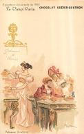 ILLUSTRATEUR  ROBIDA  LE VIEUX PARIS CHOCOLAT GUERIN BOUTRON  PATISSERIE DIRECTOIRE - Robida