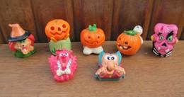 Kinder 2005 : Série Halloween Avec 6 BPZ (7 Figurines) - Lots