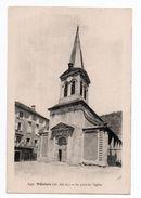 VILLEFORT (48) - LA PLACE DE L'EGLISE - Villefort