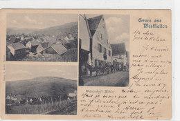 Gruss Aus Westhalten - 1902       (A-45-120215) - Elsass