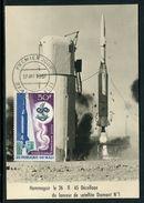 Mali- Carte Maximum 1967 - Conquête De L 'Espace - Mali (1959-...)