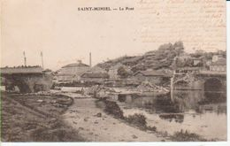 55SMI12- SAINT-MIHIEL -  Le Pont Détruit - Saint Mihiel