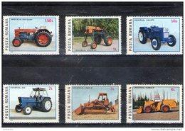 1985 - Tracteurs Et Engins Roum. Universal Mi 4179/4184 Et Yv 3605/3610 MNH - 1948-.... Republiken