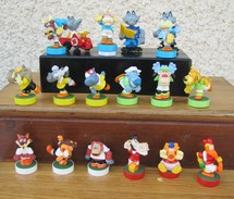 Kinder 2006 : Série Complète Magic Sport Avec 3 BPZ (18 Figurines) - Lots